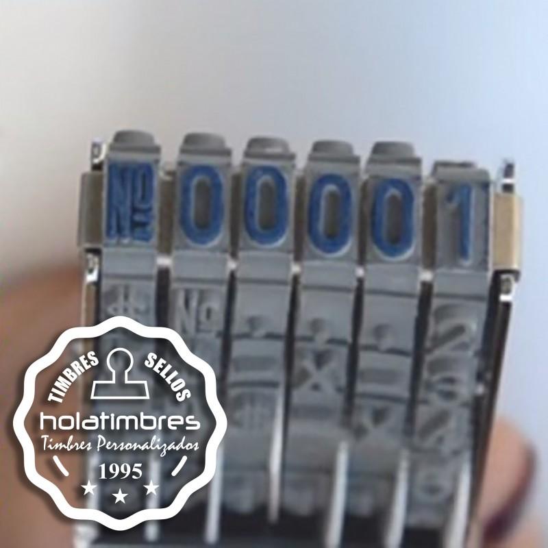 Numerador manual pequeño