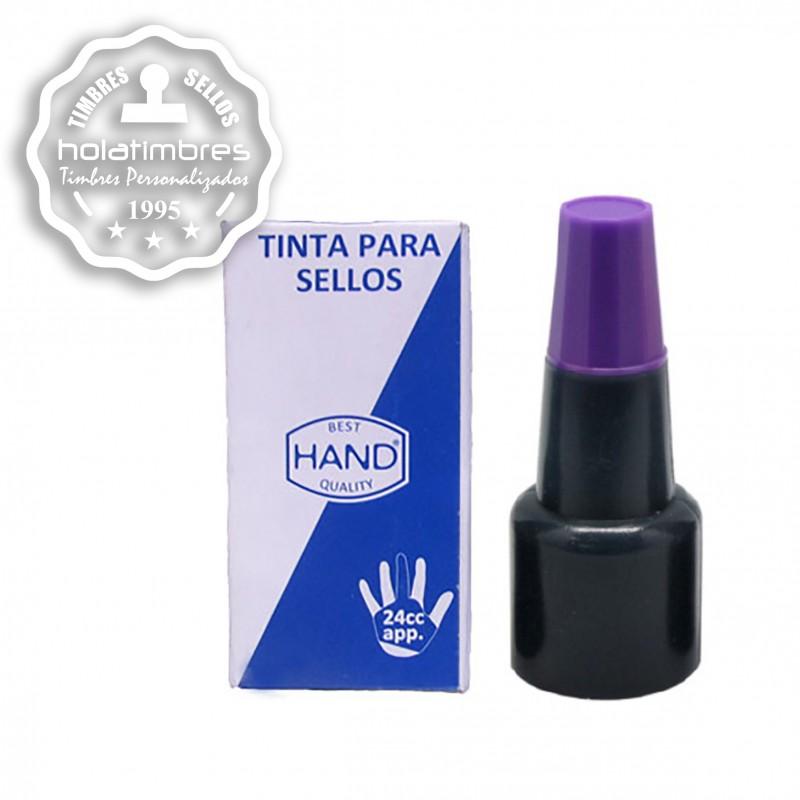 Tinta para tampón violeta