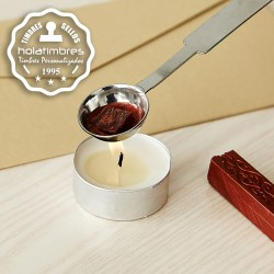 Vela tea light para lacre