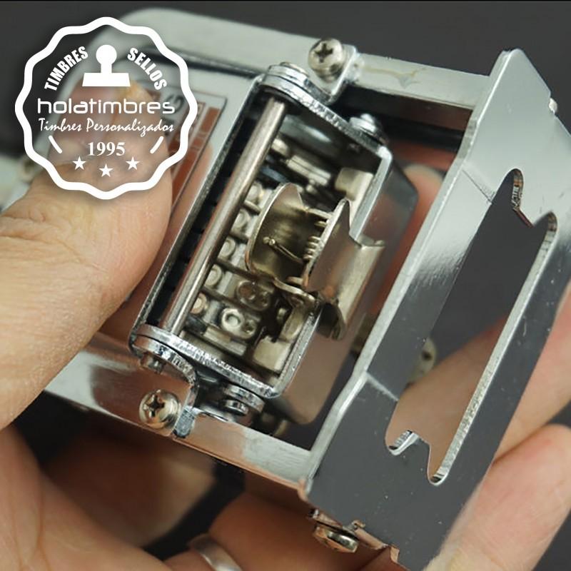 Numerador automático de 6 dígitos