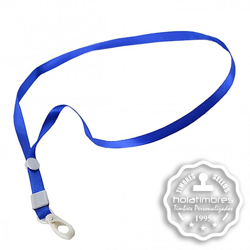 Colgante cinta azul
