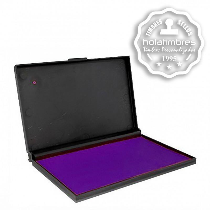 Tampón para timbre manual color violeta